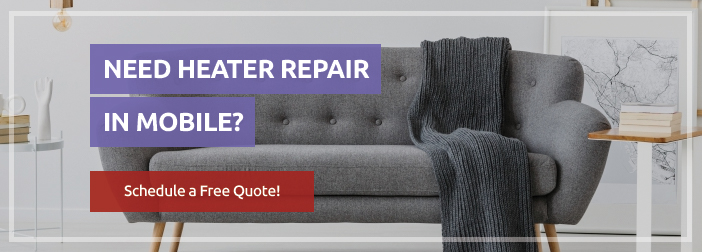 Request a quote for heater repair in Mobile - Air Control of Mobile