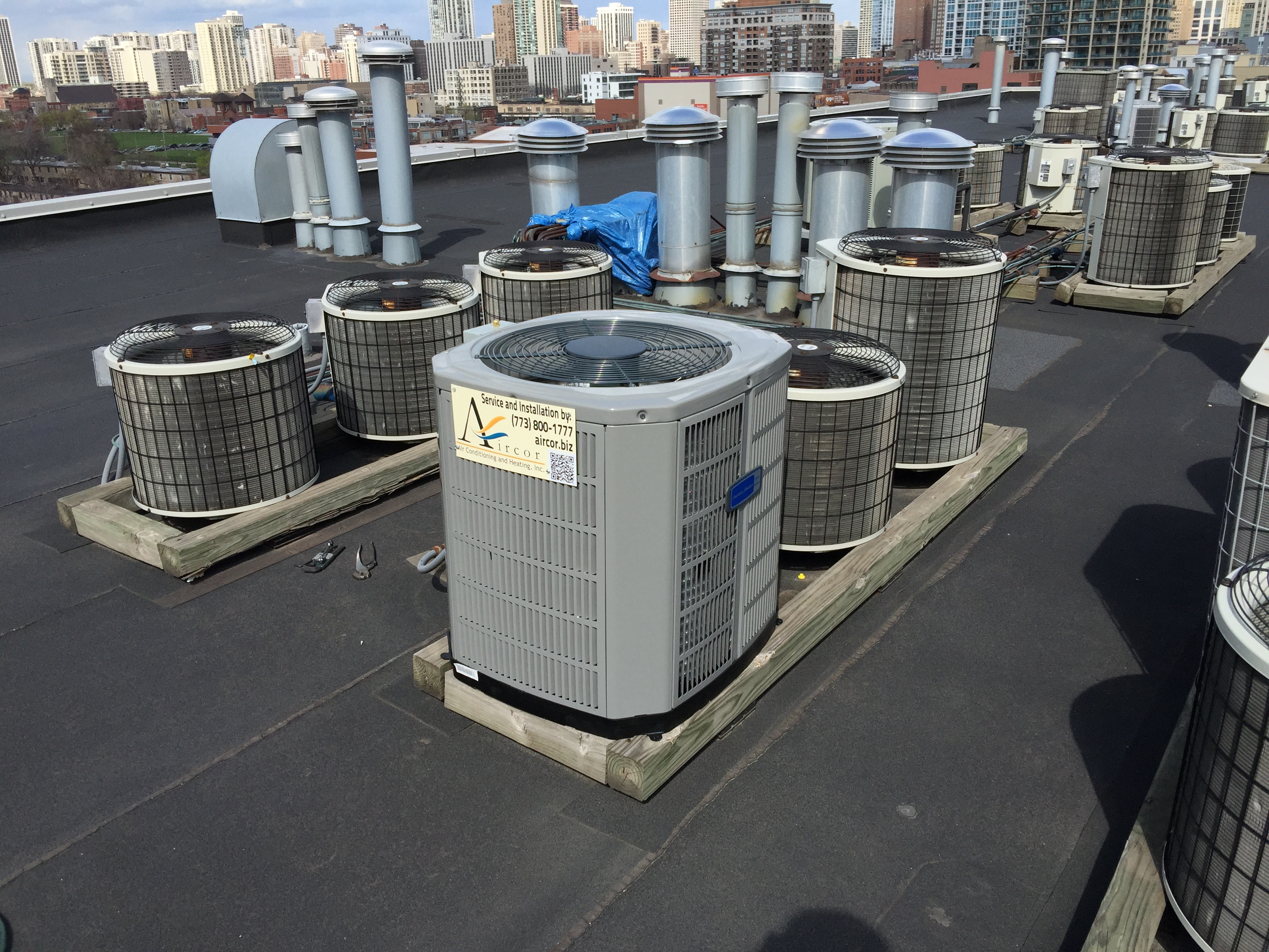 Aircor Air Conditioning Installation AC Replacement 525 W Superior St, Chicago IL 60654 River North