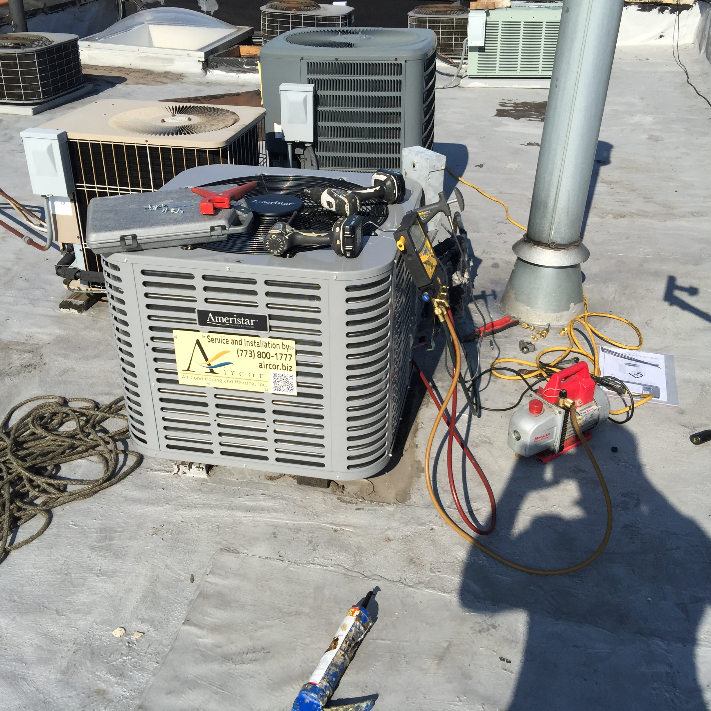 Aircor Air Conditioning Installation AC Replacement 875 W Cornelia Ave Chicago, IL 60657 Lake View