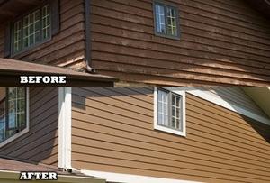 Exterior home siding done by Airtight Exteriors!
