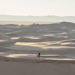 Sunset in Sand Dunes