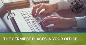 Learn about the places germs love to live in your office