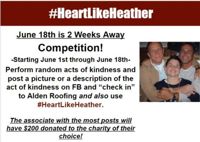 #HeartLikeHeather