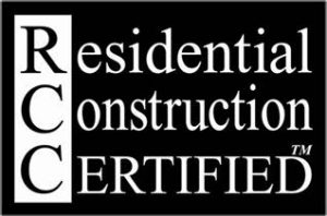 Residential construction certified
