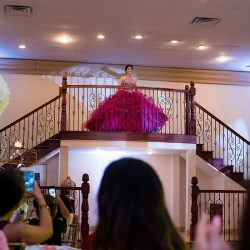 Quinceanera party with girl in dress - Alegria Gardens