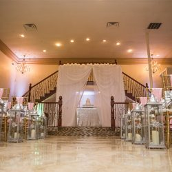 Wedding ceremony area at our wedding hall - Alegria Gardens