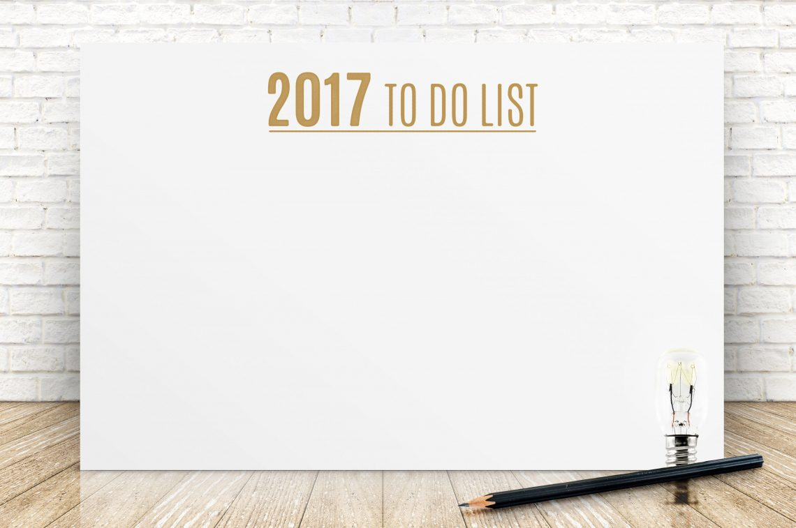 2017 To Do List