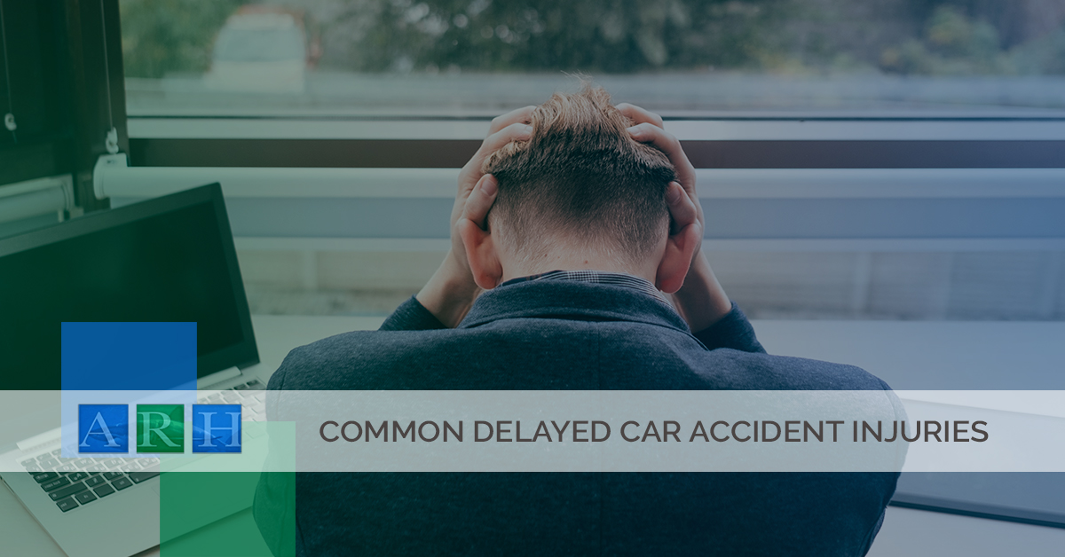 Common Delayed Car Accident Injuries