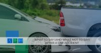 What To Say (And What Not To Say) After A Car Accident