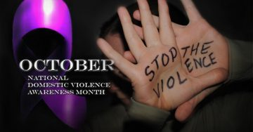 Stand against domestic violence