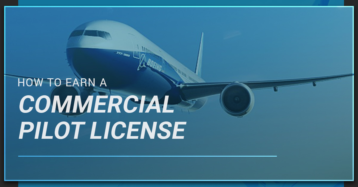 Commercial Pilot Training How To Earn Your License