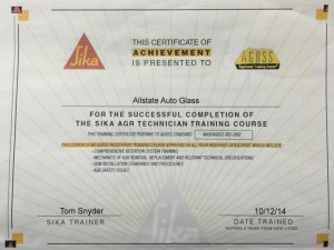 sika agr tech training certificate