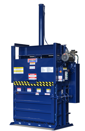 max pack vertical baler