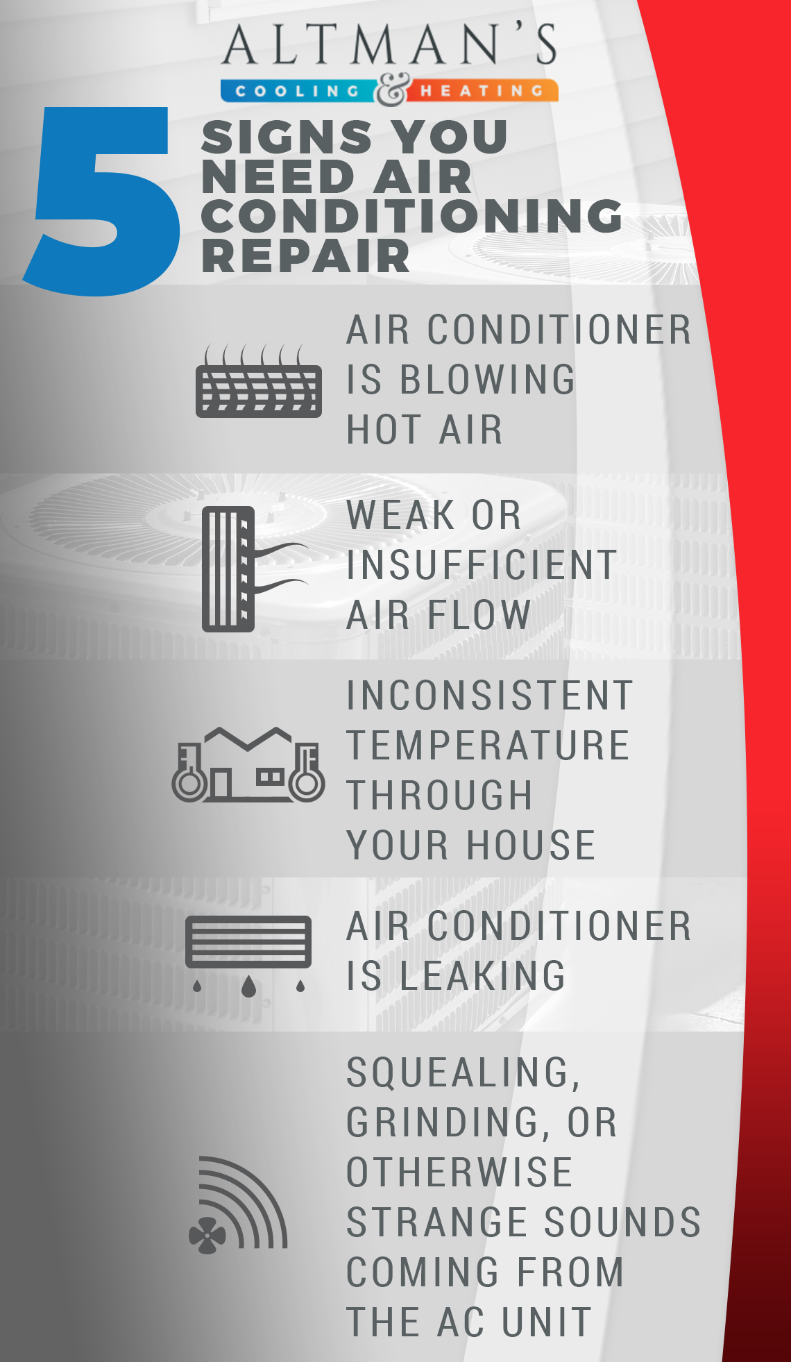 Air Conditioning Repair Company Titusville Signs Of Needed Ac
