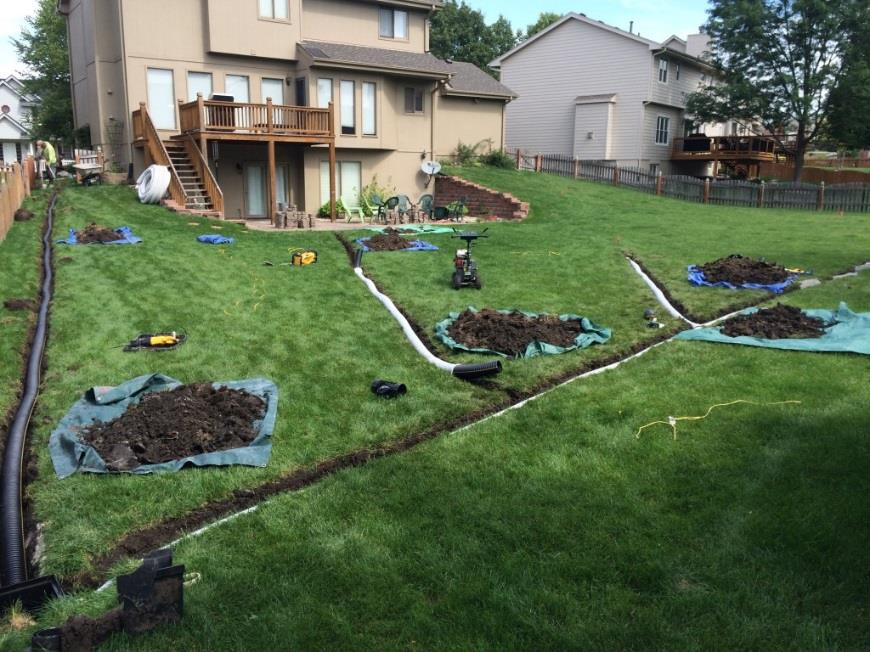 Drainage Drainage Solutions In North Little Rock