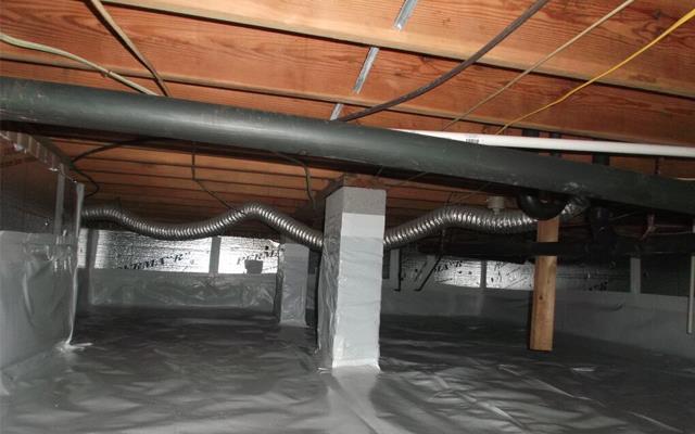 Waterproof Crawlspace