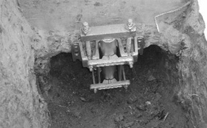 Foundation Lift Attached to Concrete