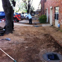 Performing a Drainage Installation