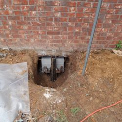 Preparing Foundation for a Lift