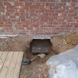 Exposed Foundation Footer