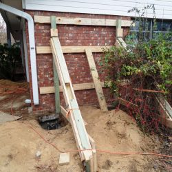 Support for Foundation Repair Lift