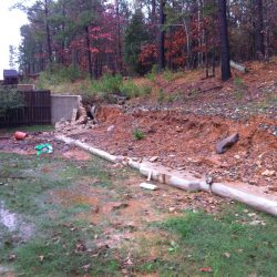 Retaining Wall Failure From Water Damage