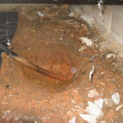 Draining Waterlogged Foundation