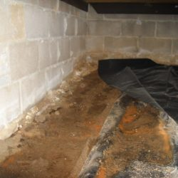 Foundation Damage and Pooling Water