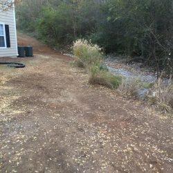 Improving Drainage Near a Home