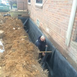 Waterproofing Barrier Installation