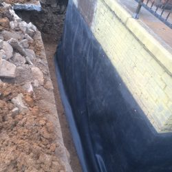 Foundation Barrier for Waterproofing