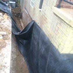 Waterproof Foundation Barrier