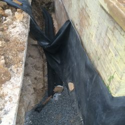 Home Foundation Exterior Waterproofing