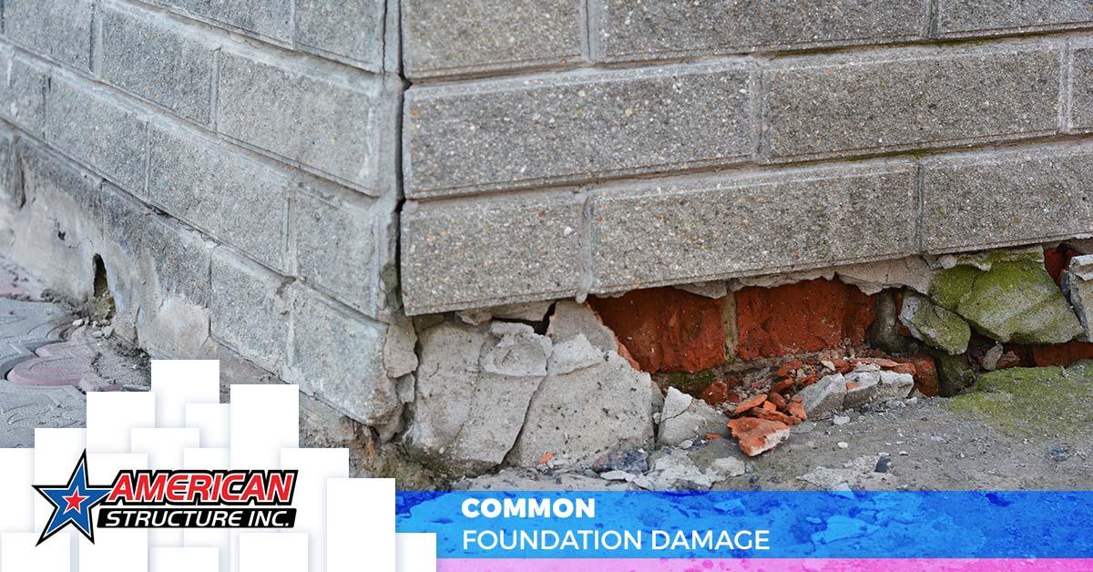 Common Foundation Damage