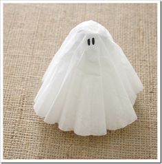 coffee filter ghost