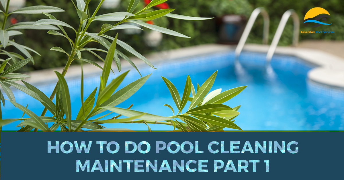 Pool Maintenance Houston : How to Do Pool Cleaning Maintenance Part 1