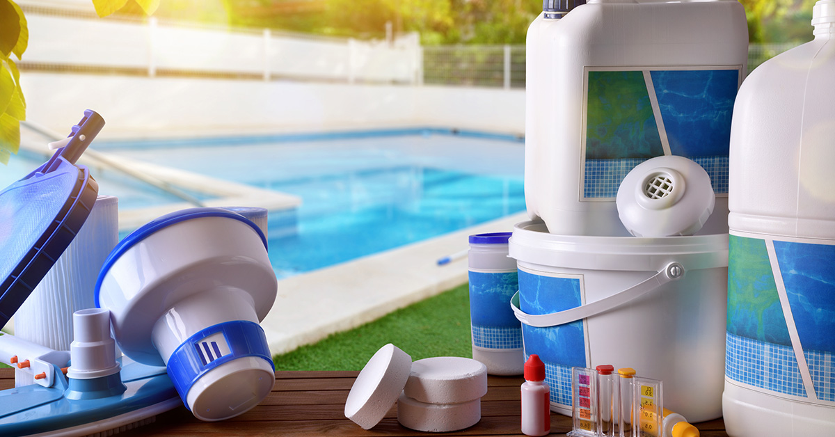 swimming pool cleaning chemicals
