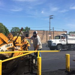 Our asphalt paving company in Bridgeview always works hard