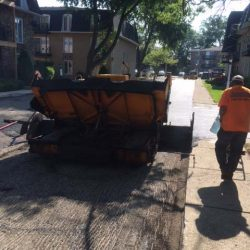 American Sealcoating & Maintenance sure knows how to do asphalt repair