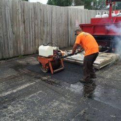High quality asphalt repair in Bridgeview from American Sealcoating & Maintenance