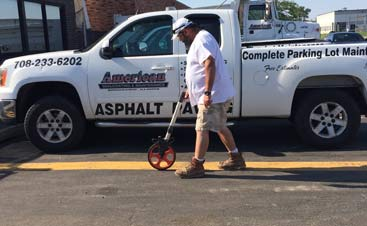 Proof that American Sealcoating & Maintenance is the best in asphalt repair