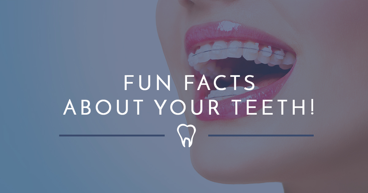 interesting facts from your westminster dentist part 1