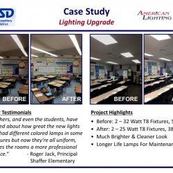 School Lighting Energy Savings
