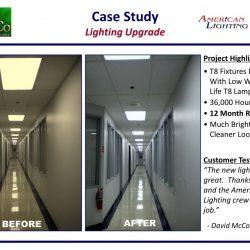 Brighter Office lighting