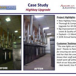 Highbay Lighting installation Contractor