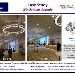 Elegant Hotel LED Lighting Retroift
