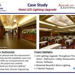 Hilton Hotel Lighting LED Upgrade