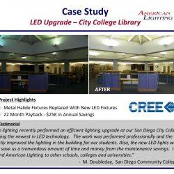 College School Library Lighting Upgrade