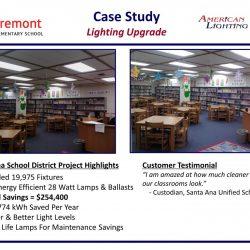 Classroom Lighting Retrofit