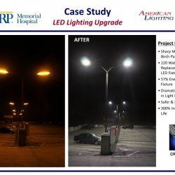 Hospital Lighting LED Parking Structure